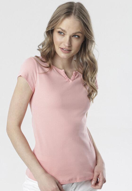 Jasnoróżowy T-shirt Mayanelle