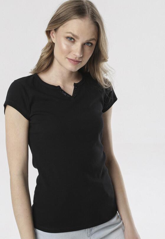 Czarny T-shirt Mayanelle