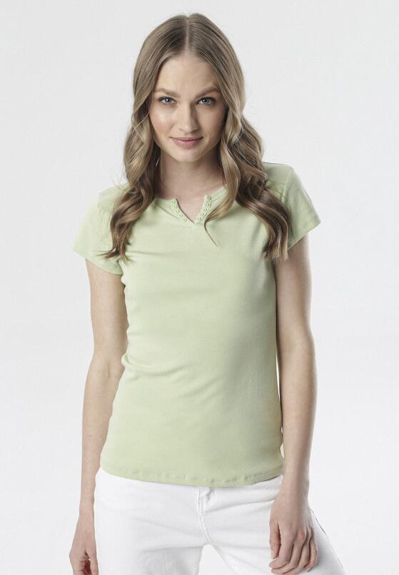 Jasnozielony T-shirt Mayanelle