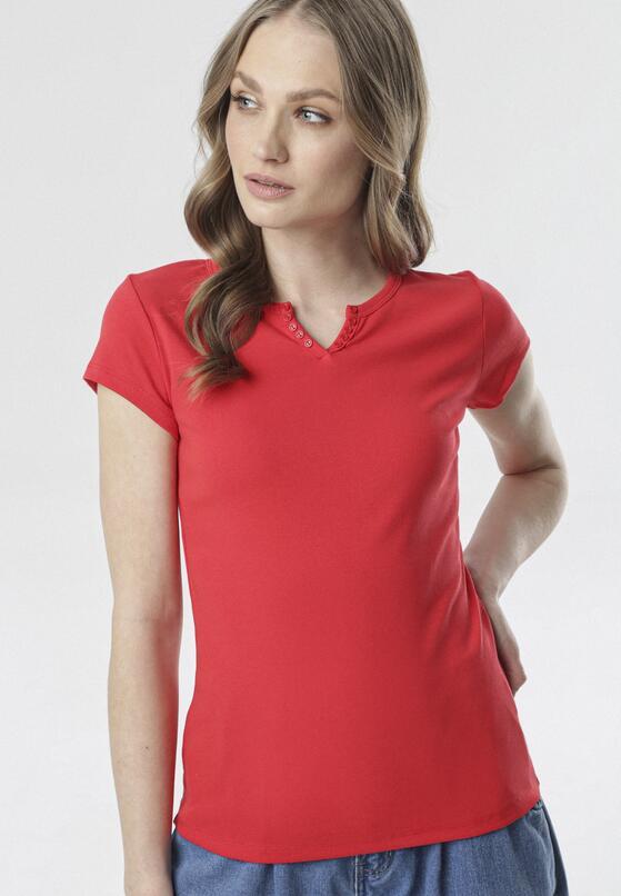 Czerwony T-shirt Mayanelle