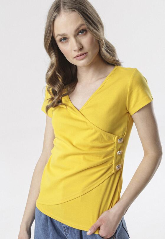 Żółta Bluzka Adralee
