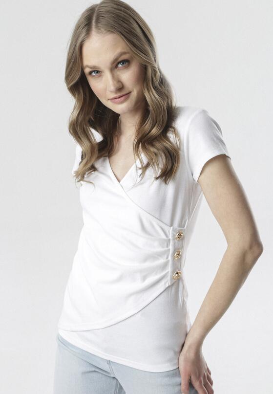 Biała Bluzka Adralee