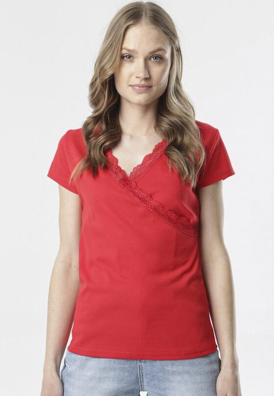 Czerwony T-shirt Allulei