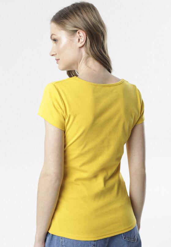 Żółty T-shirt Allulei