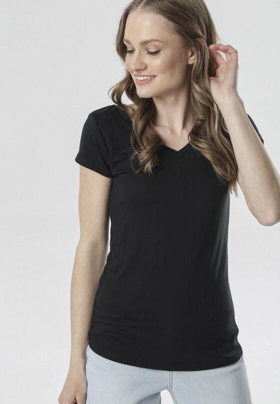 Czarny T-shirt Anarah