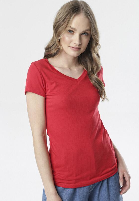 Czerwony T-shirt Anarah