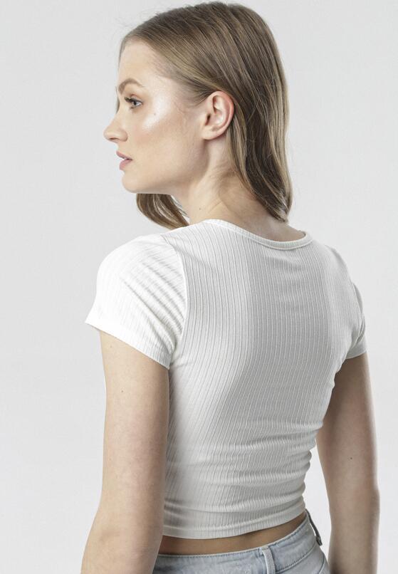 Biały T-shirt Petorei