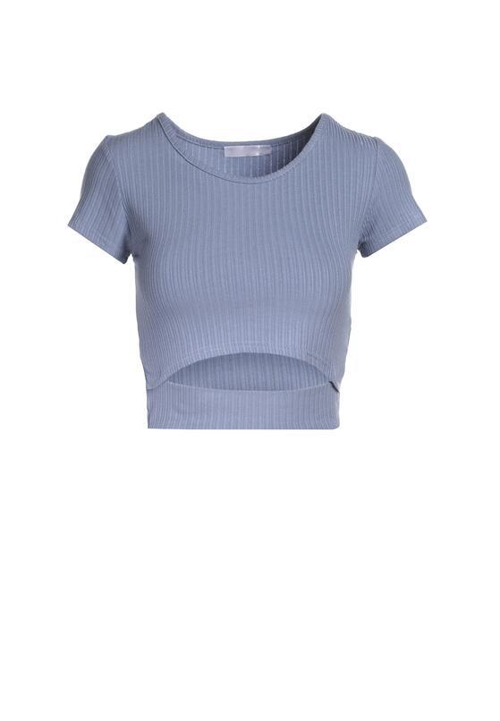 Niebieski T-shirt Petorei