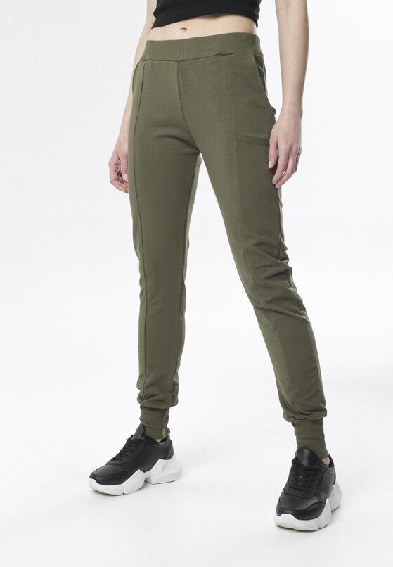 Khaki Spodnie Dresowe Chenely