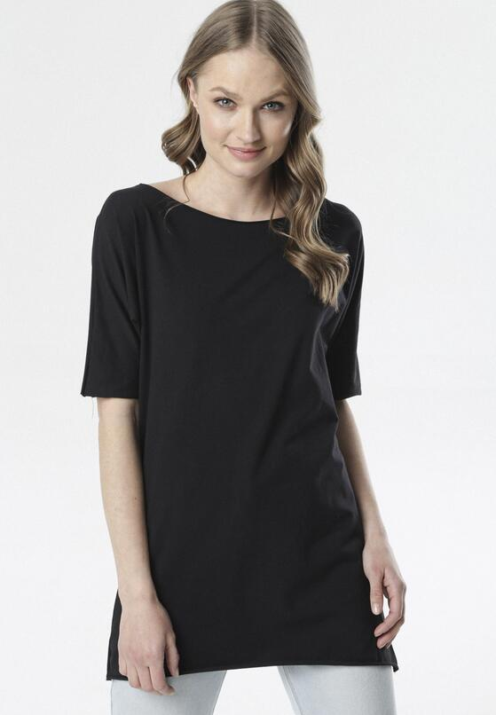 Czarny T-shirt Raemare