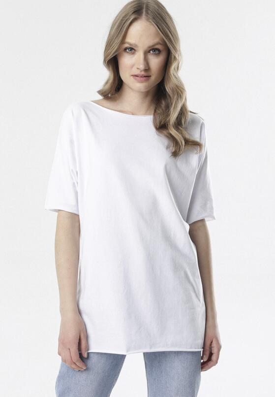 Biały T-shirt Raemare