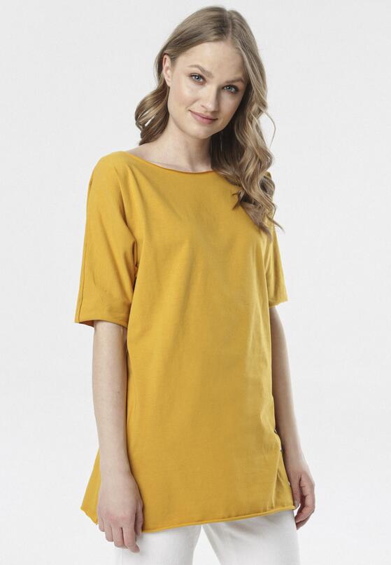 Żółty T-shirt Raemare