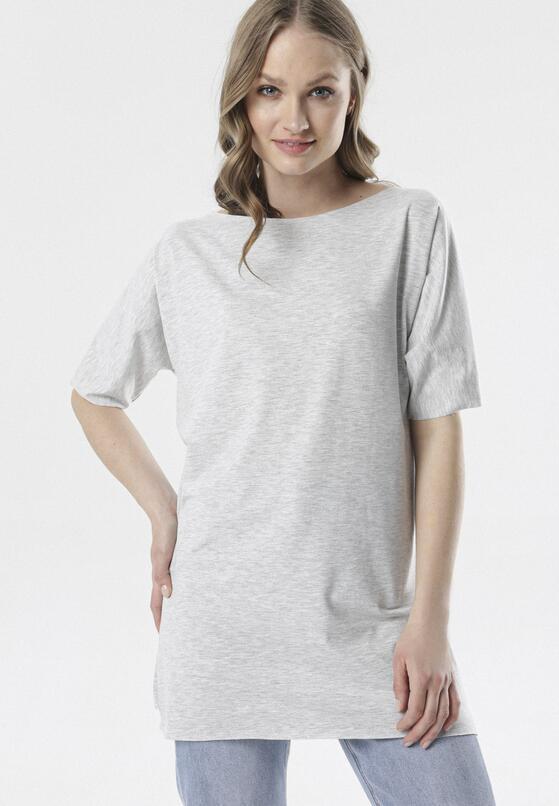 Szary T-shirt Raemare