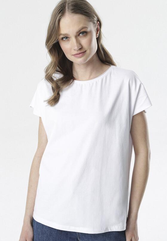 Biały T-shirt Adreamala