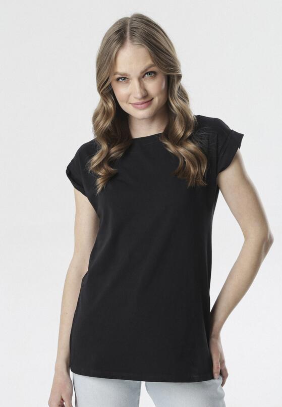 Czarny T-shirt Noebelle