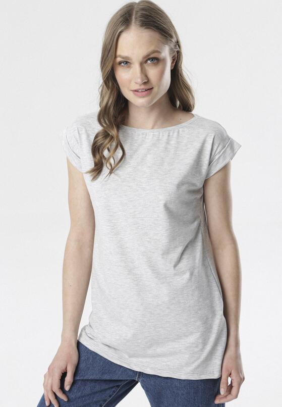 Szary T-shirt Noebelle