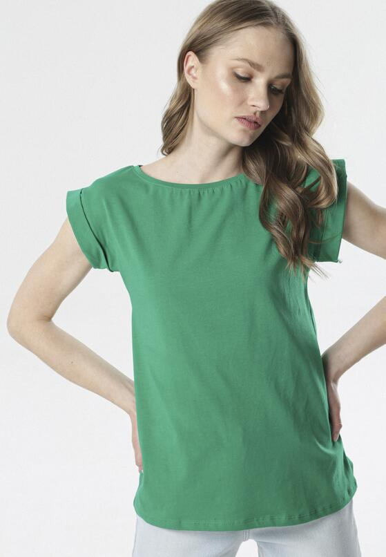 Zielony T-shirt Noebelle