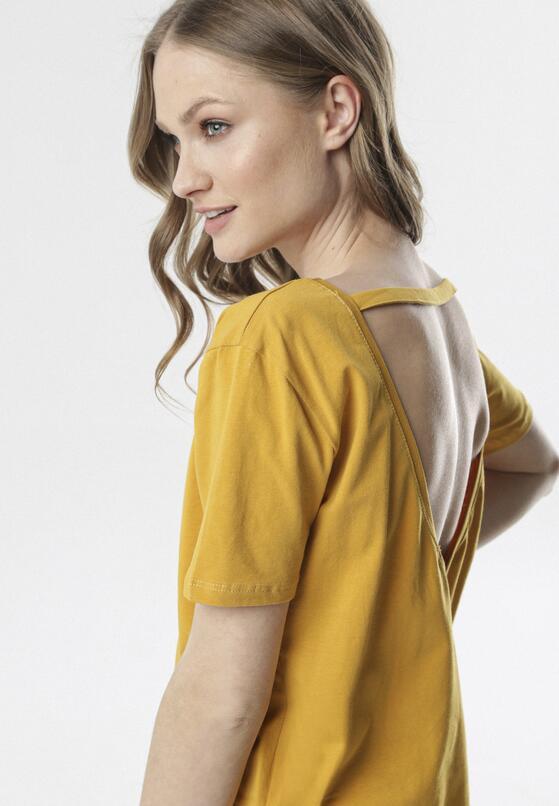 Żółty T-shirt Petotai