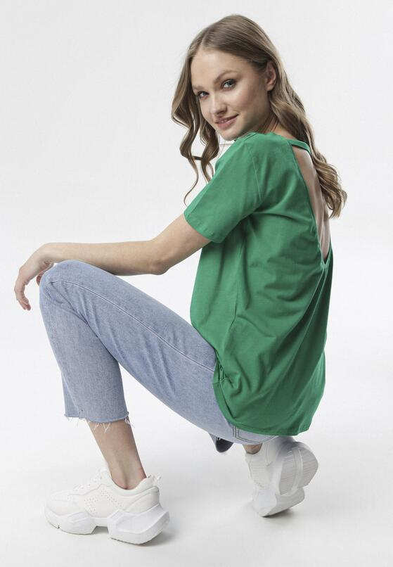 Zielony T-shirt Petotai
