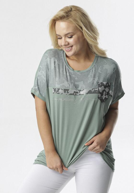 Zielona Bluzka Dianeh