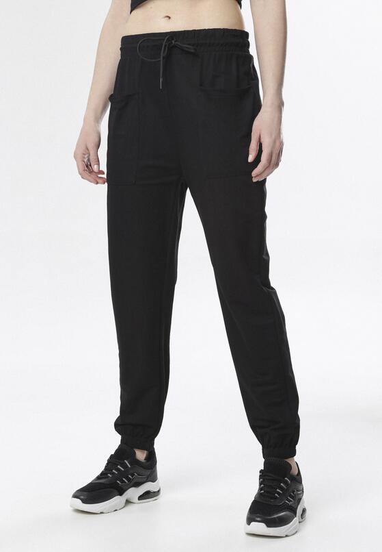 Czarne Spodnie Raisea