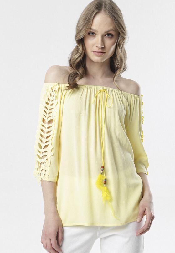 Jasnożółta Bluzka Clarope