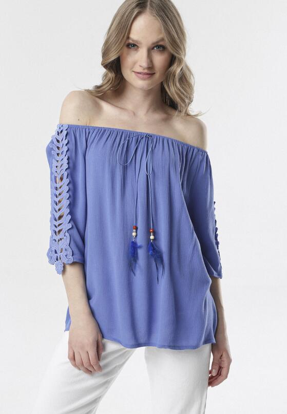 Niebieska Bluzka Clarope