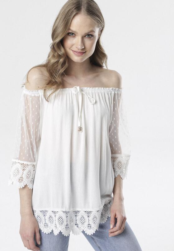 Biała Bluzka Aquiciane