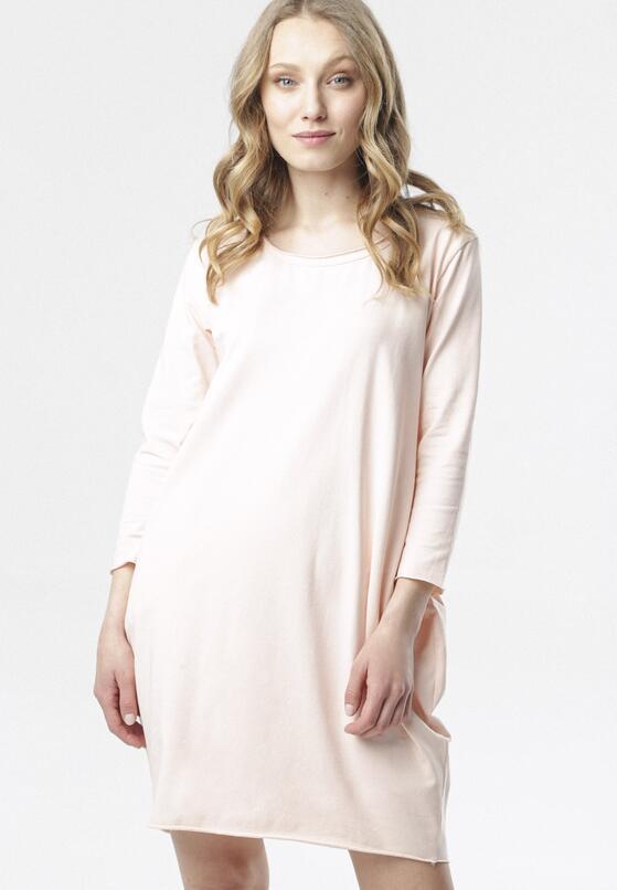 Jasnoróżowa Sukienka Adrieta