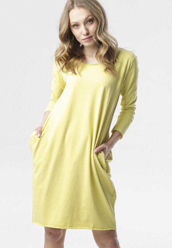 Żółta Sukienka Adrieta