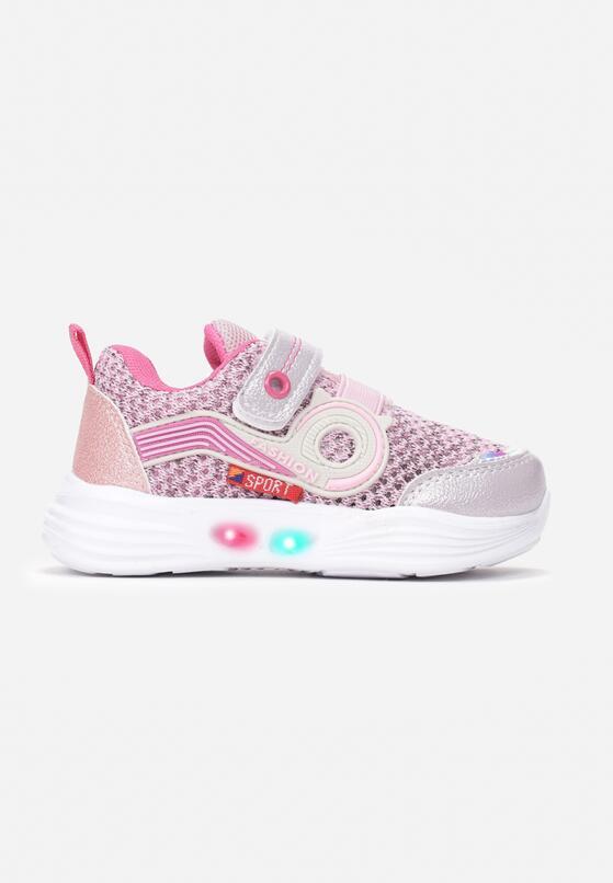 Różowe Buty Sportowe Nedaliphis
