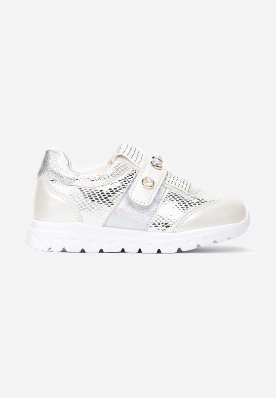 Białe Buty Sportowe Vivieny