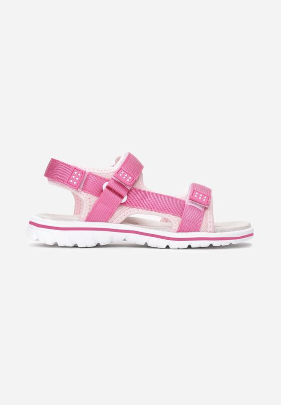 Fuksjowo-Różowe Sandały Morethe