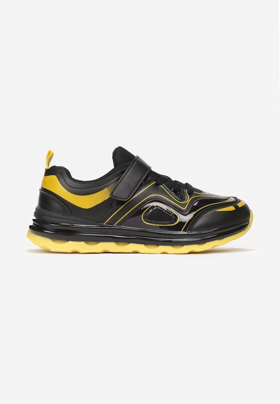 Czarno-Żółte Buty Sportowe Adrelin