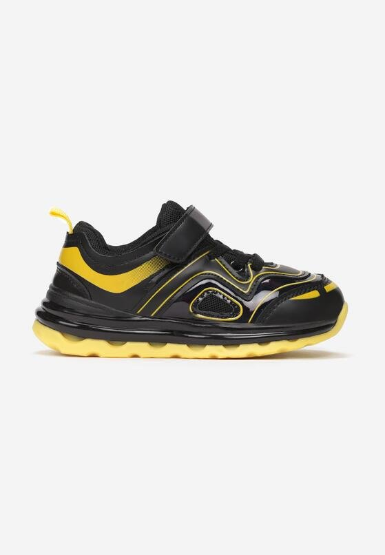 Czarno-Żółte Buty Sportowe Sienross