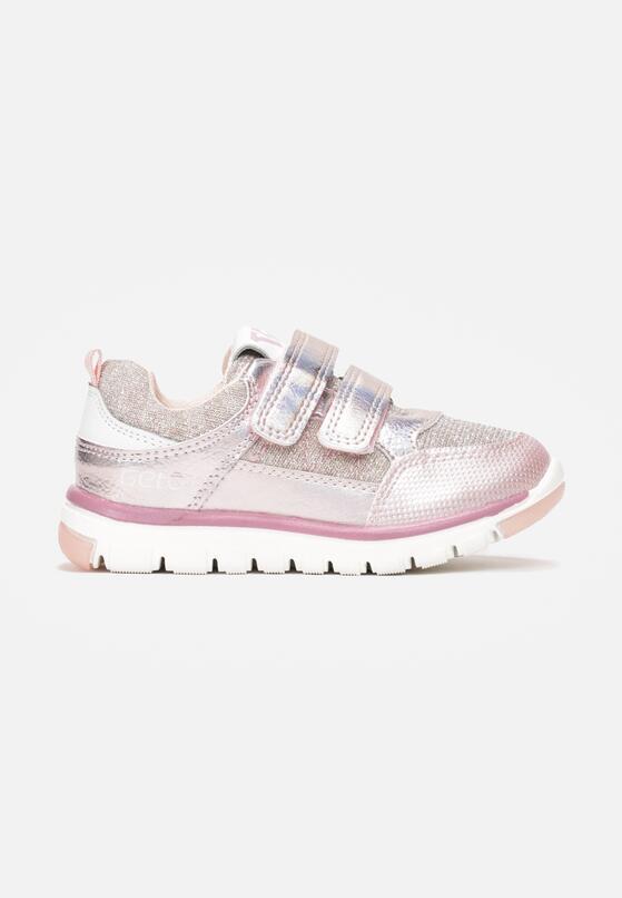 Różowe Buty Sportowe Metilophi