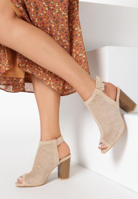 Beżowe Sandały Cordegana