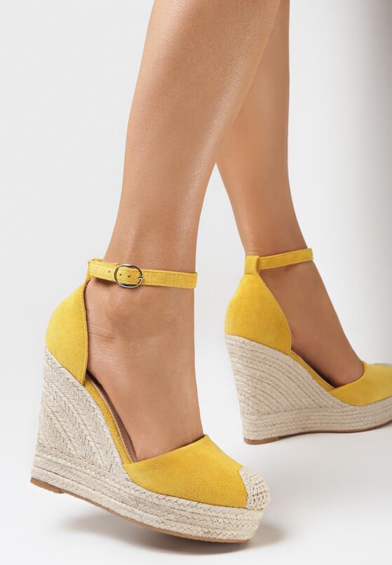 Żółte Espadryle Kleseis