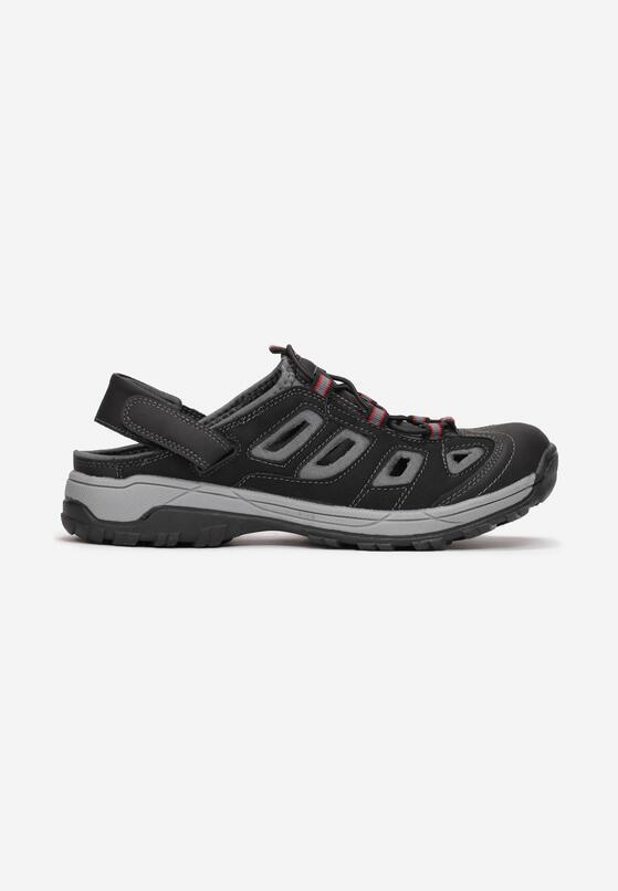 Czarne Sandały Sylineira