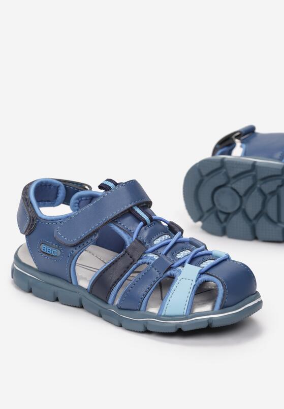 Niebieskie Sandały Kleophonos