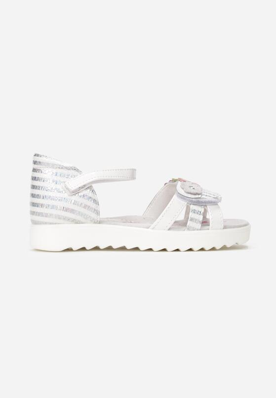 Białe Sandały Asteotiax