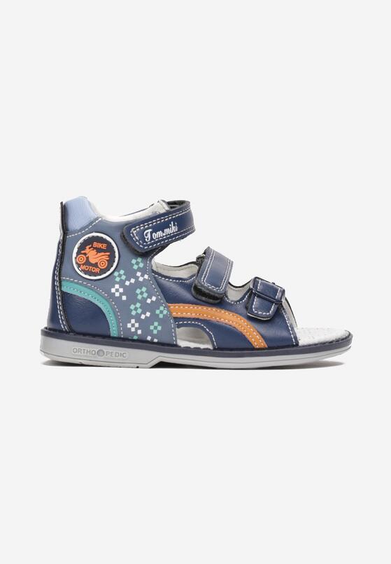 Niebieskie Sandały Parrianne