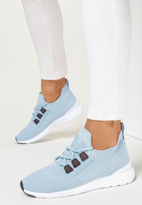 Niebieskie Buty Sportowe Delabelle