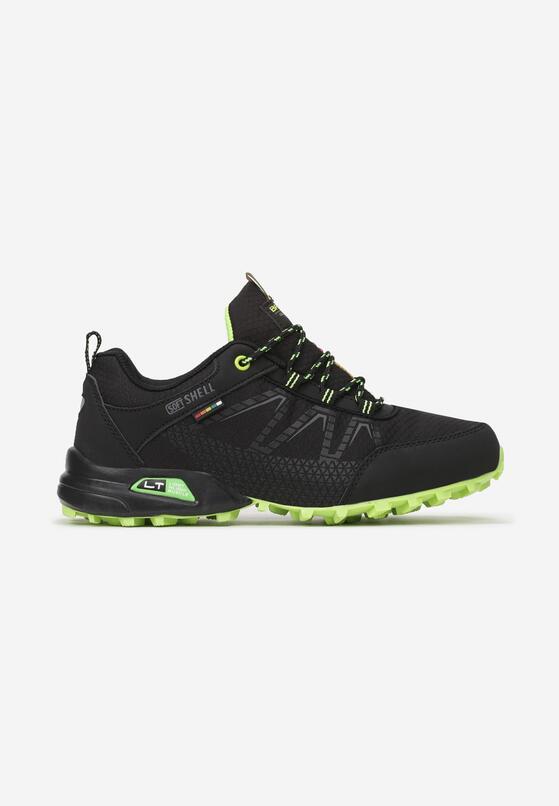 Czarno-Zielone Buty Sportowe Echovia