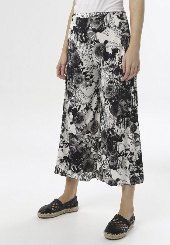Biało-Czarne Spodnie Adrilura
