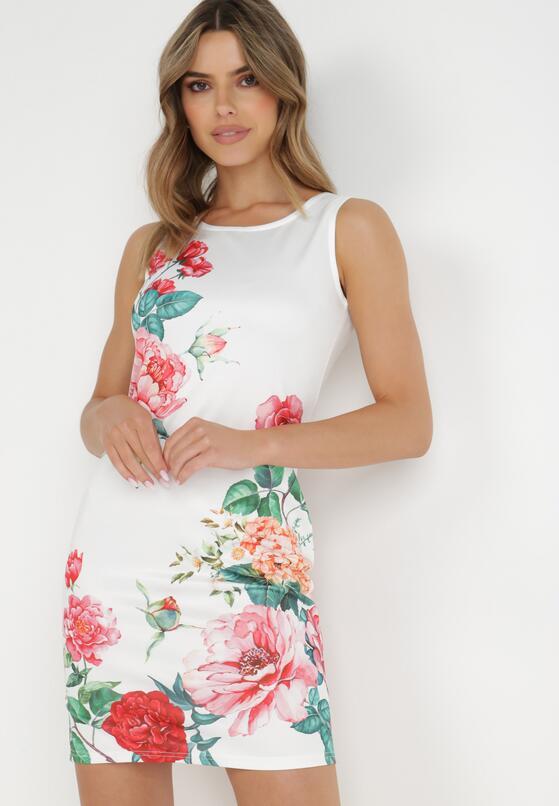 Biała Sukienka Aetheve