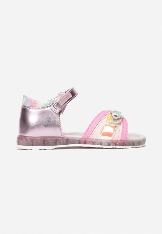 Różowe Sandały Alcinea