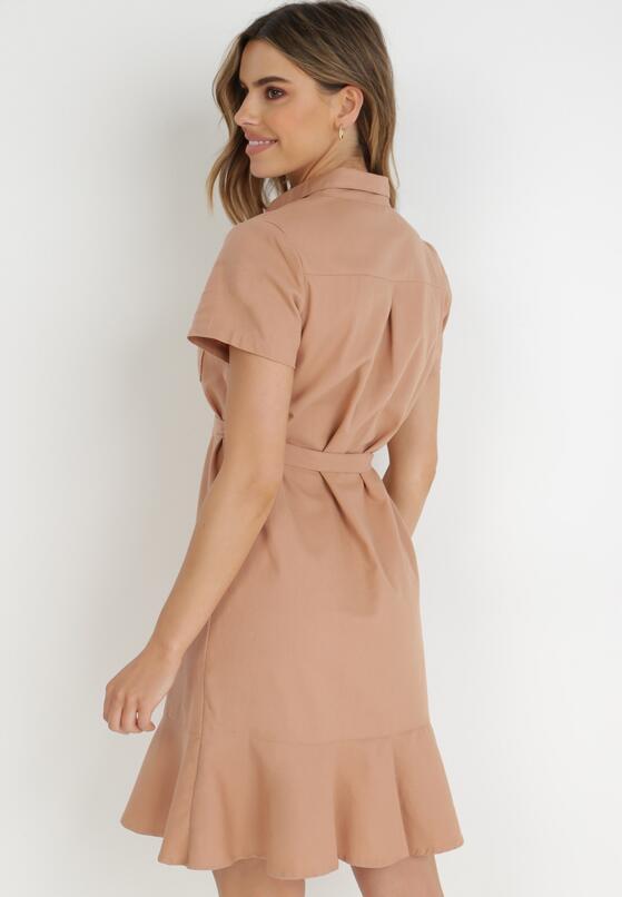Łososiowa Sukienka Aquilila