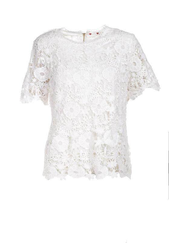 Biała Bluzka Adrane