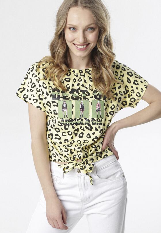 Żółty T-shirt Salalopei